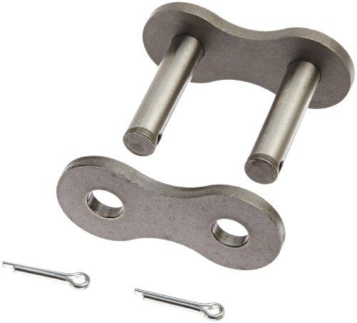 Morse 160 C/L C/P S/F Enlace de cadena de rodillo estándar, ANSI 160, 1 hebra, acero, 2' Pitch, 1.125' Roller Diamter, 1-1/4' Roller Width, 285000lbs fuerza media de tensión