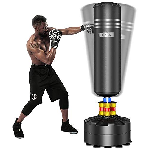 "Dripex Freestanding Punching Bag 69""- 182lb Heavy Boxing Bag with Suction Cup Base"
