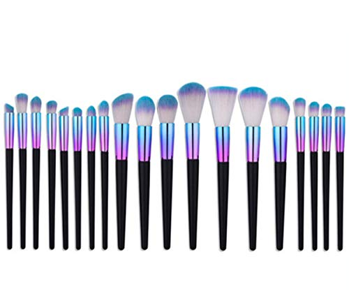 Family Needs Worthy for gezichtscontouren Balmy Coloring Krachtige Grip Stijve Affinity 19 stuks make-up borstel set Brush Beginner Makeup Tools goede set van oogschaduw brush wenkbrauw borstel Loose