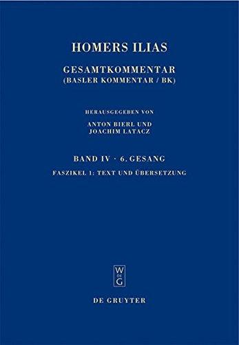 Text und Übersetzung (Sammlung wissenschaftlicher Commentare (SWC))