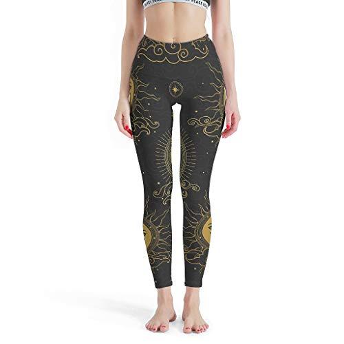 YxueSond - Mallas de yoga para mujer (tejido no transparente) Blanco blanco XXXL