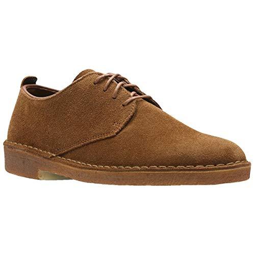 Clarks Originals Mens Desert London Cola Suede Shoes 46 EU