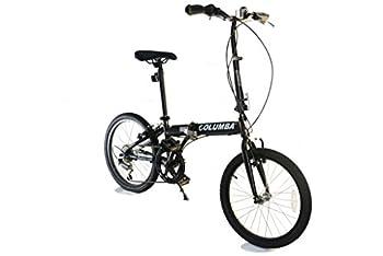 Columba 20  Compact Folding Bike 6 Speed  PR20S   Black