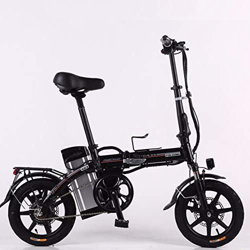 XCBY elektrische driewieler voor mobiliteit, opvouwbaar en draagbaar, voor volwassenen, elektrische scooter, motor tot 500 W, lange reikwijdte 45 km, met licht en display