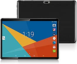 Android Tablet 10 Inch, 10.1 Tablets 3G, HD , 8.1 , WIFI, 64GB RAM, 4GB ROM, GPS, GSM, Octa Core, Dual Sim Card, Cheap, 1080P IPS (Black)