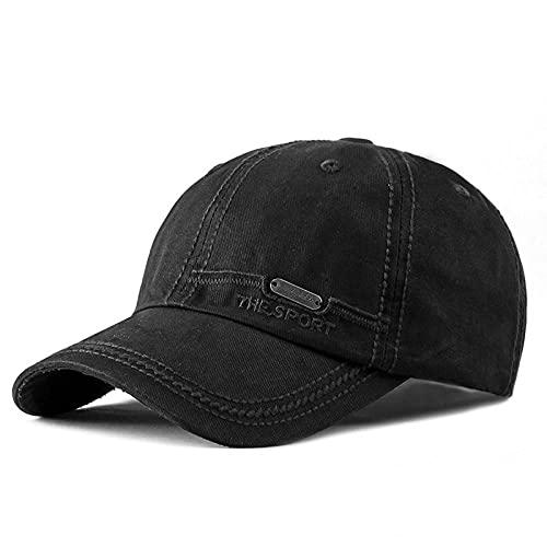 XNSW Sombrero de algodón Four Seasons Gorra de béisbol Bordada Gorras Casuales para Hombre Sombrero para el Sol para Mujer Universal-4