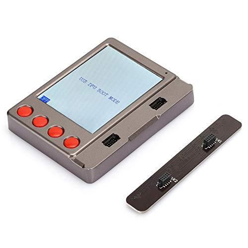 W28 PRO mobiele telefoon reparatietester, nieuwe batterij/LCD-scherm/datakabel Hoofdtelefoon Uitgebreide tester Geïntegreerd LCD-scherm Test Reparatie gereedschapsset Plastic grijs Zwart voor IOS
