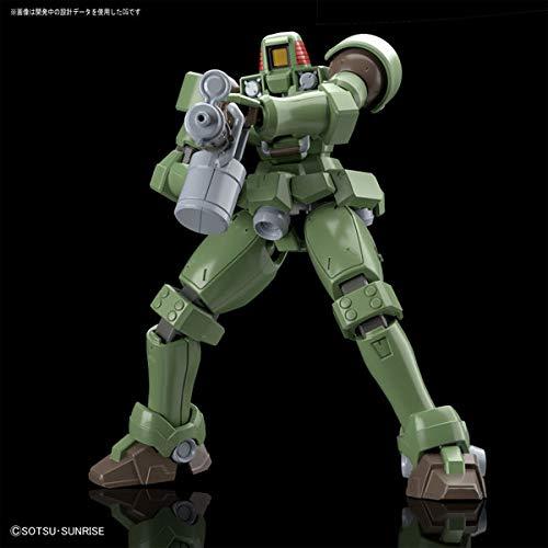 "HGAC 1/144 Leo Plastic Model from ""Mobile Suit Gundam Wing"""