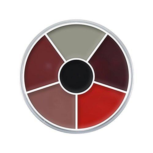 Creme Color Wheel Brandwunde Verletzungen schminken Halloween Schminke Profi Theaterschminke