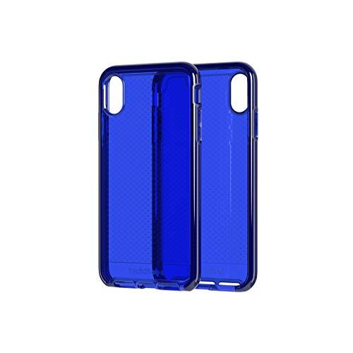 Tech21 Evo Check Funda Protectora para Apple iPhone Xs Max - Azul Medianoche