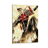 wuqian Anime Art Poster One Punch Man Metal Fledermaus