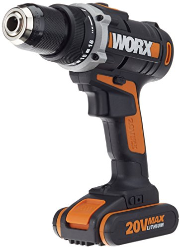 Worx 20V Li-Ion batería de taladradora, 1pieza, wx183