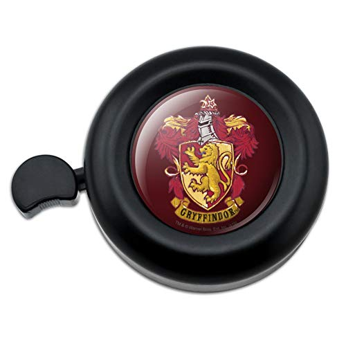 GRAPHICS & MORE Harry Potter Gryffindor Painted Crest Bicycle Handlebar Bike Bell