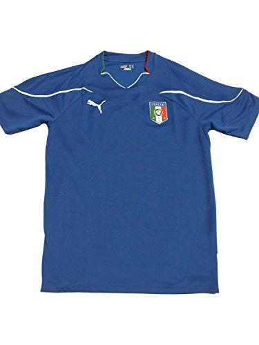 Puma - Maillot officiel de l'Italie Squadra Azzura Home Domicile Adulte - Taille XL