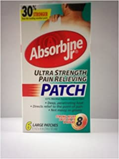 Absorbine Jr Pain Relieving Patches 6 ea