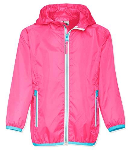 Playshoes Unisex Kinder Faltbare Funktions-Jacke Regenjacke, Pink 18, 116