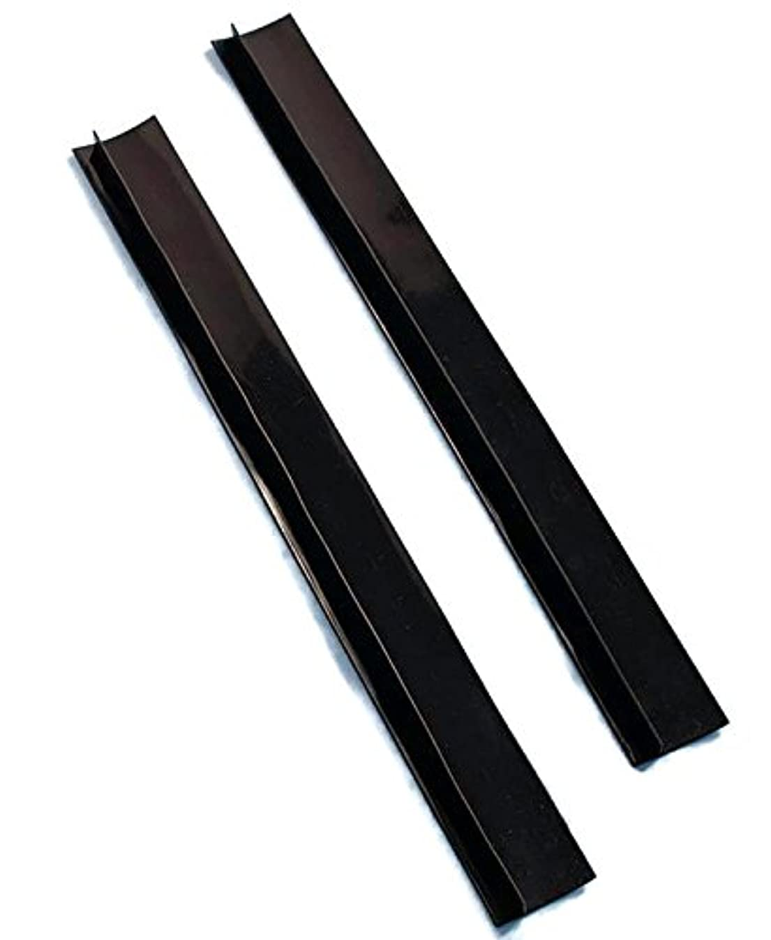 日曜日スカート更新するSet of 2 Black Silicone Counter Gap Covers by LTD Commodities