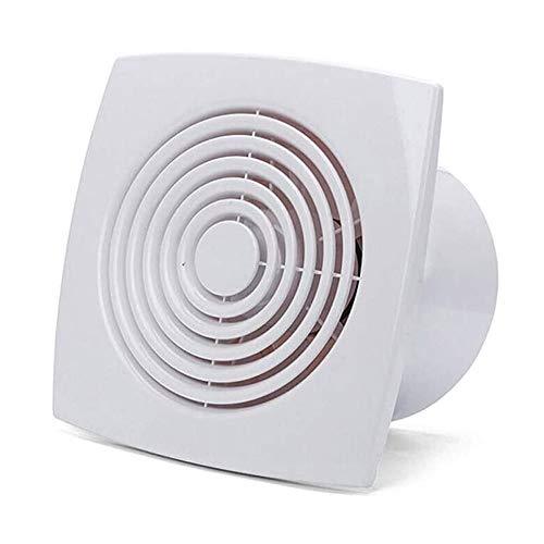 STRAW Ventilador de Escape, Cocina, Inodoro, Ventilador, persiana, Ventana, Ventilador de Escape, ventilación de Aire, caño de Metal (Size : 6 Inches)