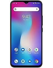 UMIDIGI Power SIMフリースマートフォン Android 9.0 5150mAh大容量バッテリー 6.3インチ FHD+ 大画面ノッチ付きディスプレイ 4GB RAM + 64GB ROM Helio P35オクタコア 16MP+8MPデュアルカメラ18W高速充電 グローバル対応端末 技適認証済み 指紋認証 顔認証 au不可