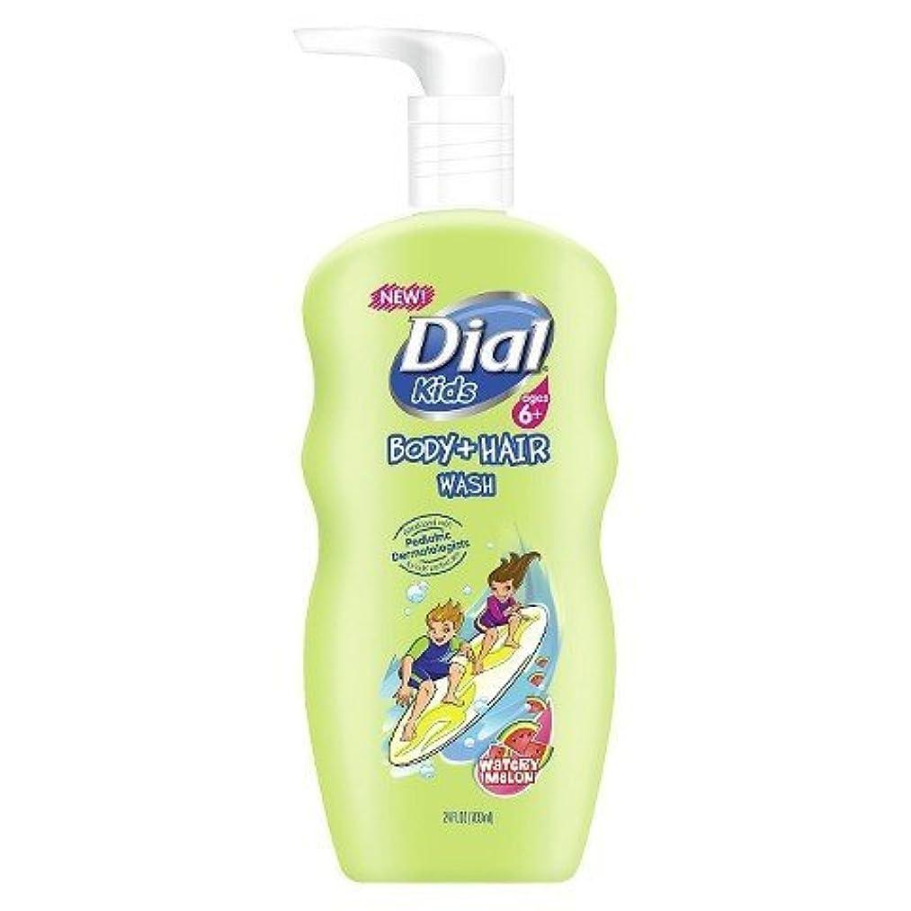 Dial Kids Body + Hair Wash, Watery Melon, 24 fl oz
