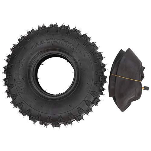 Tenpac 4.10‑4 Neumático de Scooter, neumático de Scooter Duradero y Resistente al Desgaste para jardín para el hogar