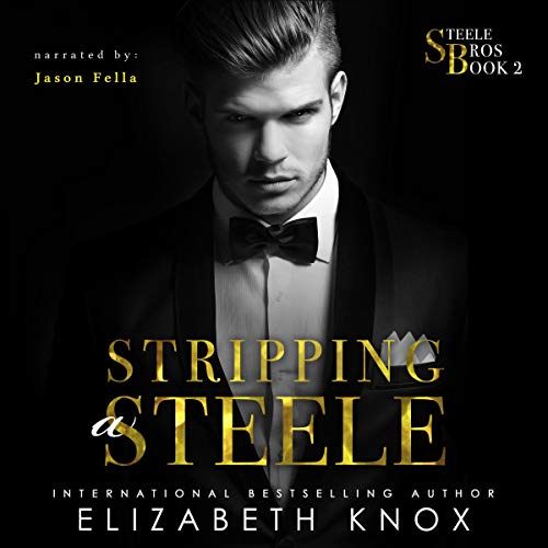 Stripping a Steele audiobook cover art