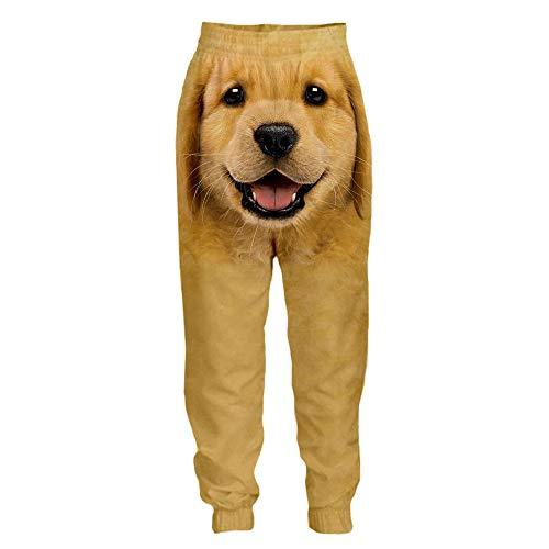 LYLLXL Pantalones De Chándal Estampados En 3D,Pantalones Unisex 3D...