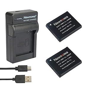 USB cargador de batería para Canon PowerShot ELPH 110 HS 115 IS 320 HS 340 HS 350 HS