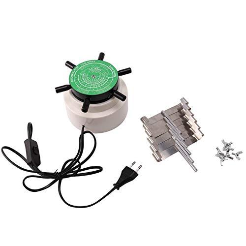 LXH-SH Test-Testmaschine, 6 Uhrenherstellung Werkzeuguhr Wickler Reparatur-Uhr Mechanische Uhr Automatisches Wickelinstrument (Color : Silver)