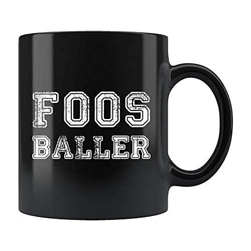 N\A Taza de Foos Baller, Foos Baller Gift, Foosballer Mug, Foosball Mug, Foosball Gift, Foosballer Gift, Foosball Player Gift, Futbol de Mesa