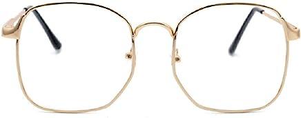 950772655c2ca Nuni Wire Frame Nerd Bookworm Oversized Square Aviator Eyeglasses