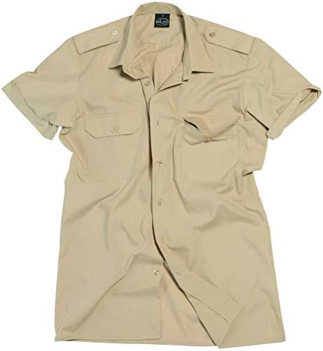 Mil-Tec US Diensthemd kurzarm für Sie und Ihn (Khaki/XL)
