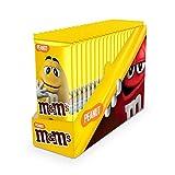 M&M's Tavoletta al Cioccolato con Arachidi, Confezione da 16 Tavolette - 165 gr