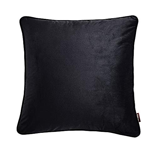 QKP 18'*18' Simple Style Solid Color Throw Pillow Case Soft Cushion Cover Sofa Chair Bed Decorative Square Pillow Cover 45 * 45cm Pillow Sham With Hid