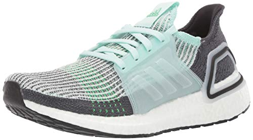 adidas Men's Ultraboost 19 Running Shoe, Ice Mint/Ice Mint/Grey, 8 UK
