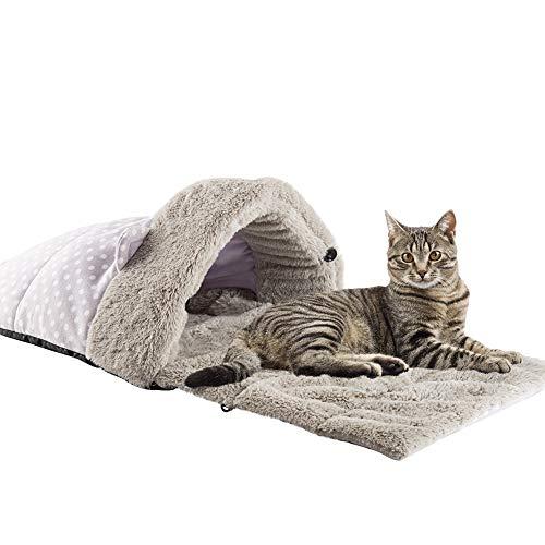 Joyelf Katzen-Schlafsack, selbstwärmend, 81,3 x 40,6 cm