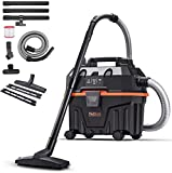 TACKLIFE Wet and Dry Vacuum Cleaner, 1200W 15L Bagless Wet Dry Vac Cleaner