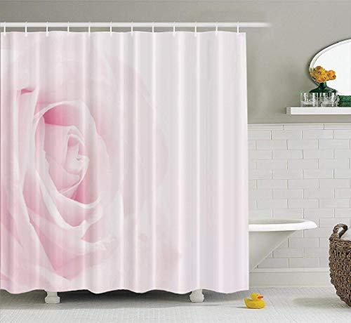 remmber me Rosa Blumen duschvorhang rosa Rose kann weichen Sepia Vintage Pastell Blume wohnkultur Stoff duschvorhang Bad Polyester Bad Vorhang mit 12 Haken