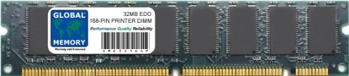 32MB EDO 168-PIN DIMM MEMORY FOR PRINTERS (SHARP-AFN, C6252A)