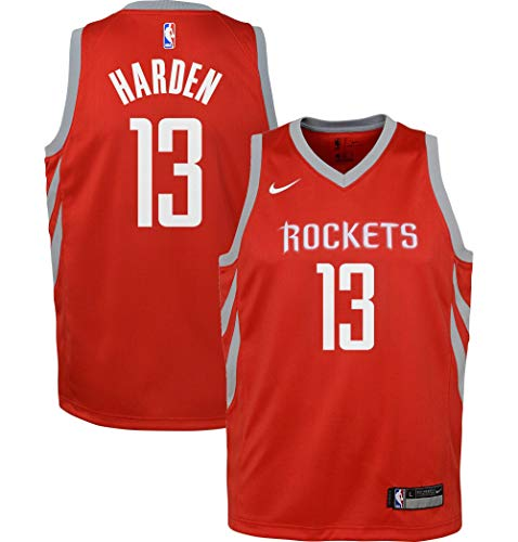 OuterStuff NBA Swingman Icon Jersey Player Houston Rockets Harden James Size Bxl20