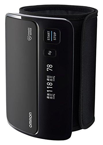 オムロン 上腕式血圧計 ブラック HEM-7600T-BK