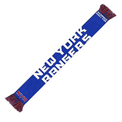 New York Rangers 2014 NHL Wordmark Scarf