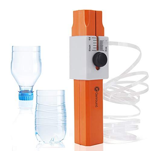 Cortador de botellas de plástico, Genround herramienta de corte de cortador de cuerda de plástico cortador de botella para botellas de plástico de PET de bricolaje