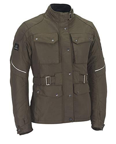 SMOOK Damen Motorradjacke Textil WALLY Farbe: Braun, braun, L