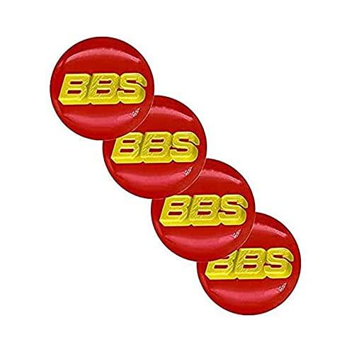 ZXKQ 4 Piezas Tapas Centrales Tapacubos, para BBS 65mm Centro De Rueda con Logo ProteccióN Accesorios