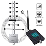 ANNTLENT Cell Phone Signal Booster 850 1700 2100 1900Mhz Cellular Booster Band 2