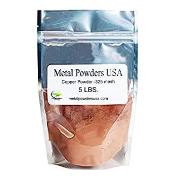 Copper Powder -325 Mesh Five Pounds  5LBS  Ships UPS 1-5 Business Days