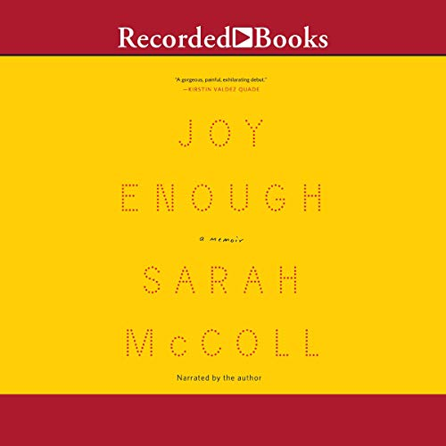 Joy Enough audiobook cover art