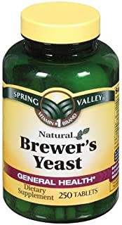 Spring Valley Brewers Yeast 250 TABLETS