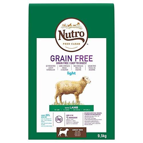 Nutro Grain Free adult light cordero 9,5 kg ⭐